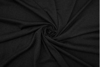 Трикотаж шерстяной черный BRS-X30 26072151