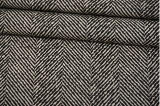 Трикотаж в елочку черно-белый BRS-X50 26072156