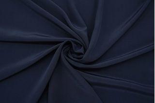 Блузочно-плательный вареный шелк темно-синий BRS.H-M20 26072158