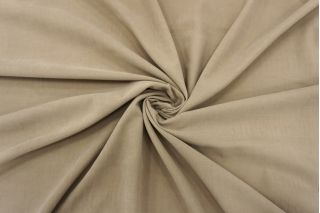 Микровельвет плательно-рубашечный песочный BRS-K30 26072162