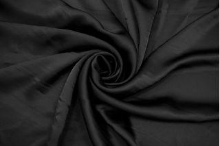 Атлас вискозный черный Fendi BRS-H50 26072166