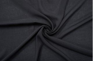 Штапель-стрейч вискозный черный IDT-i20 25032125