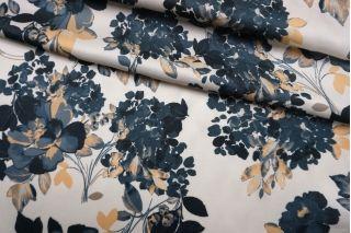 Плательно-блузочный сатин вискозный цветы IDT-H4 25032143