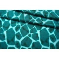 Плательно-блузочный сатин вискозный морские блики IDT-H50 25032149