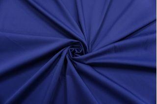 Сатин-стрейч хлопковый плательный синий BRS-D20 26022109