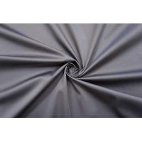 Сатин-стрейч хлопковый плательный серый BRS-C40 26022110