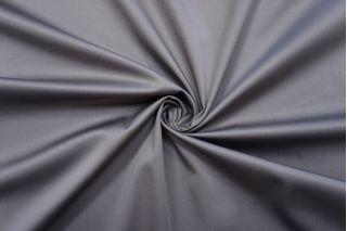 Сатин-стрейч хлопковый плательный серый BRS-D20 26022110