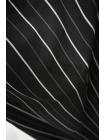 Плательная вискоза в полоску черно-белая BRS-H70 26022118