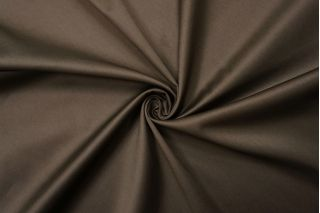 Сатин-стрейч хлопковый плательный серо-коричневый BRS-D20 26022125