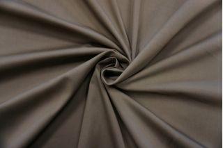 Сатин-стрейч хлопковый плательный коричневато-серый BRS-D20 26022130