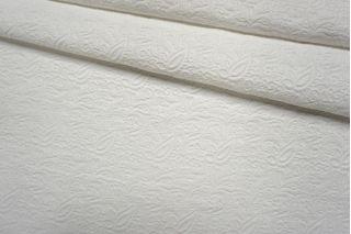 Жаккард белый вискозный NST 26022141