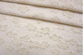 Плательная ткань с люрексом фактурные цветы NST-G60 26022164
