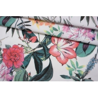 Хлопок рубашечный цветочный NST-A50 26022182