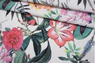 Хлопок рубашечный цветочный NST-G2 26022182