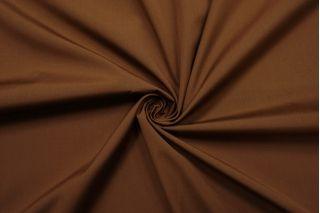Поплин мерсеризованный рубашечный коричневый SR 11012106