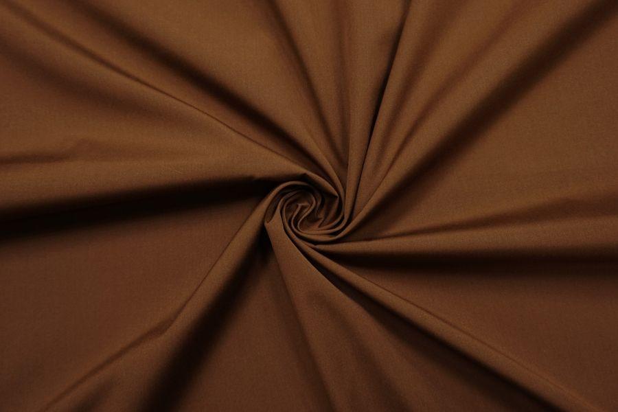 Поплин мерсеризованный рубашечный коричневый SR-F3 11012106