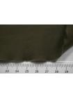 Поплин зеленый хаки стрейч SR-F3 11012130