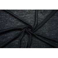 Тонкий трикотаж шерстяной черный TRC-N5 11012143