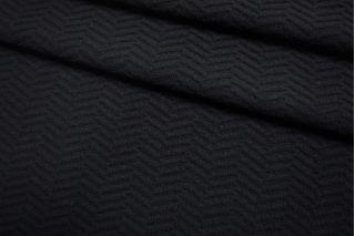 Пальтовая шерсть фактурная черная SR-EE70 11012154