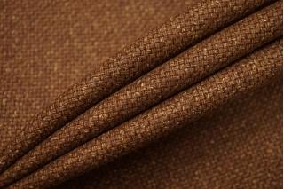 Костюмная шерсть тонкая коричневая BRS-D3 11012164