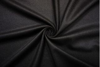 Костюмная шерсть черная с коричневым подтоном BRS-CC70 11012165