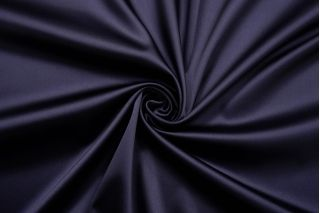 Атлас костюмно-плательный темный сине-фиолетовый Balmain LEO-AA1 23122037