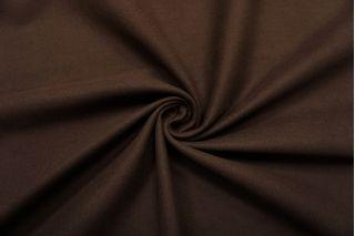 Костюмный хлопок под велюр темно-коричневый SR-I7 23122056