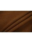 Костюмно-плательный хлопок под велюр коричневый SR-G2 23122057