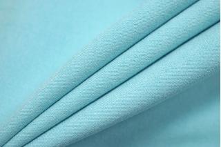 Плательная вискоза под велюр светлый бирюзово-голубая SR-I7 23122059