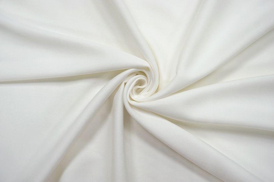 Костюмный хлопок под велюр белый SR-I7 23122060