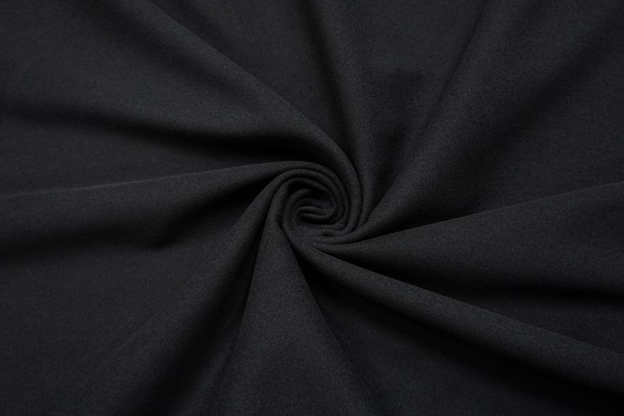 Костюмный хлопок под велюр черный SR-I7 23122061