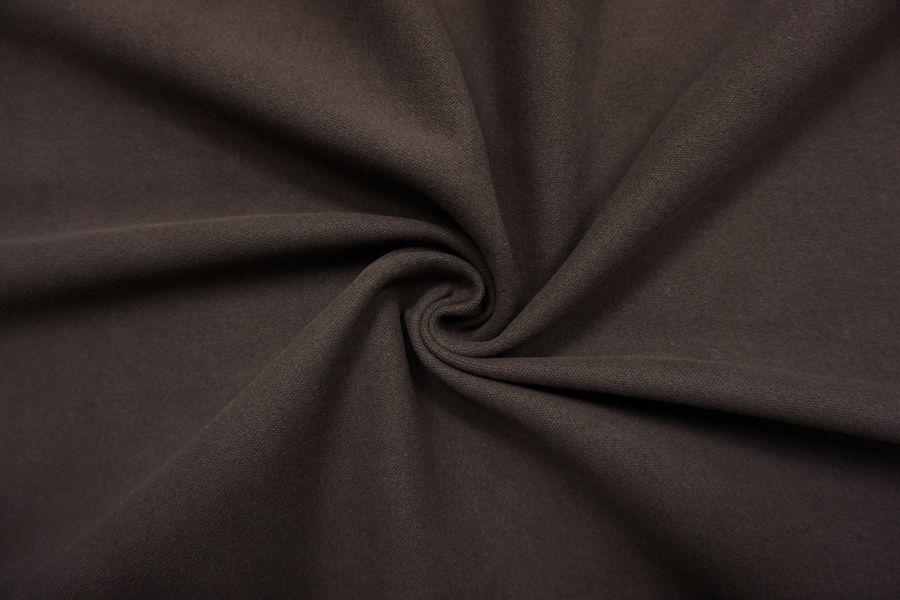 Костюмный хлопок под велюр темно-коричневый SR-I7 23122062
