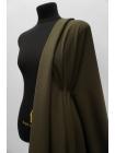 Тонкая костюмно-плательная шерсть болотная в клетку SR-CC20 23122068