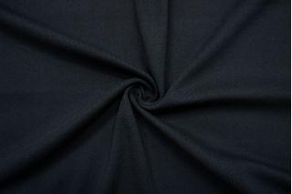 Трикотаж рибана синевато-черный SR-K3 23122069