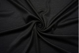 Трикотаж кашкорсе черный SR-M4 23122072