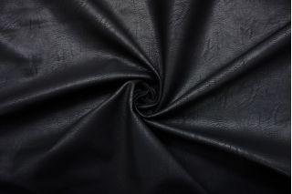 Экокожа плотная на хлопке черная SMF-U50 30012102