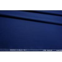 Костюмная тонкая шерсть полированная синяя CMF-E4 30012111