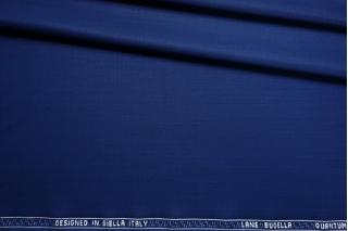 Костюмная тонкая шерсть полированная синяя CMF-DD40 30012111