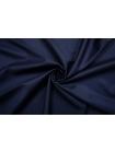 Костюмная тонкая шерсть полированная темно-синяя CMF-E4 30012112