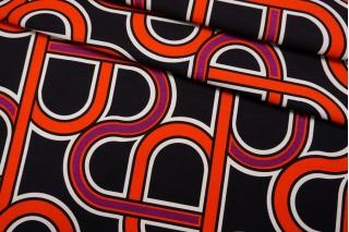 Сатин костюмно-плательный абстракция FRM-G2 14022120