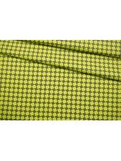 Сатин костюмно-плательный желто-зеленый FRM-G2 14022125