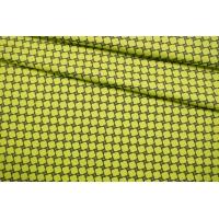 Сатин костюмно-плательный желто-зеленый FRM-G7 14022125