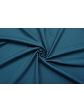 ОТРЕЗ 1 М Креп костюмно-плательный поливискозный приглушенный сине-бирюзовый Hugo Boss NST.H-(47)- 16022102-1
