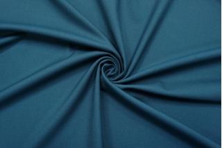 Креп костюмно-плательный поливискозный приглушенный сине-бирюзовый Hugo Boss NST.H-G30 16022102