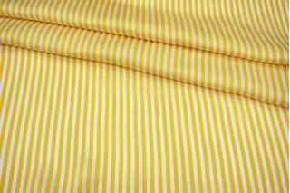 Атлас плательно-блузочный желтая полоска MII-j30 04082128