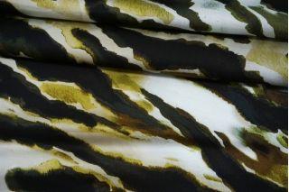 Атлас плательно-блузочный абстрактная зебра MII-J20 04082147