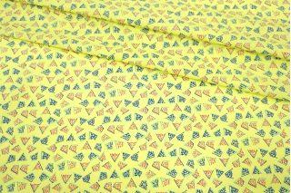 Поплин мерсеризованный лимонная абстракция MII-A40 05082148