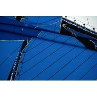 Поплин рубашечный синие паруса MII-A40 06082105