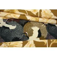 Штапель каймовый листья и журавли MII-H30 06082133