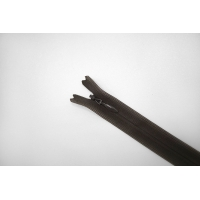 Молния потайная зеленовато-коричневая 14 см YKK G21 17092138